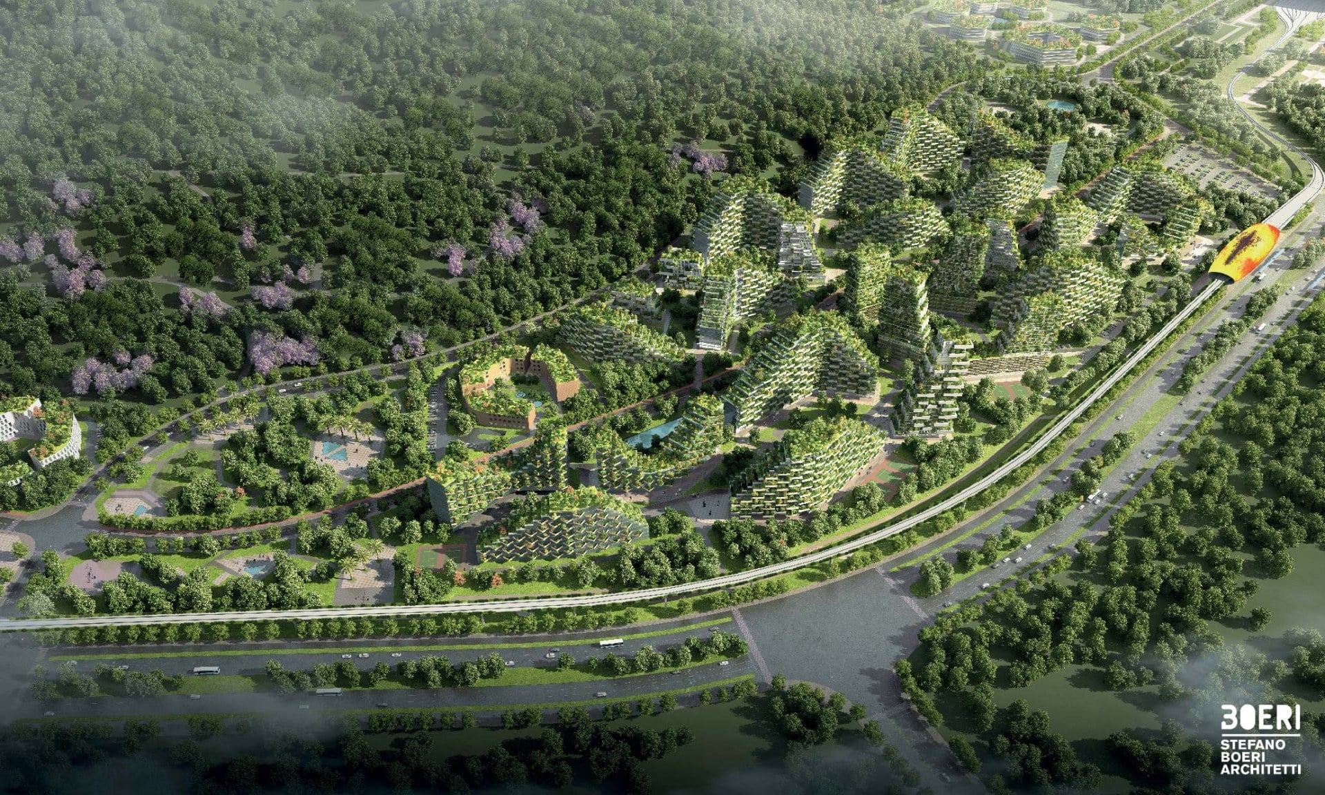 forest city china