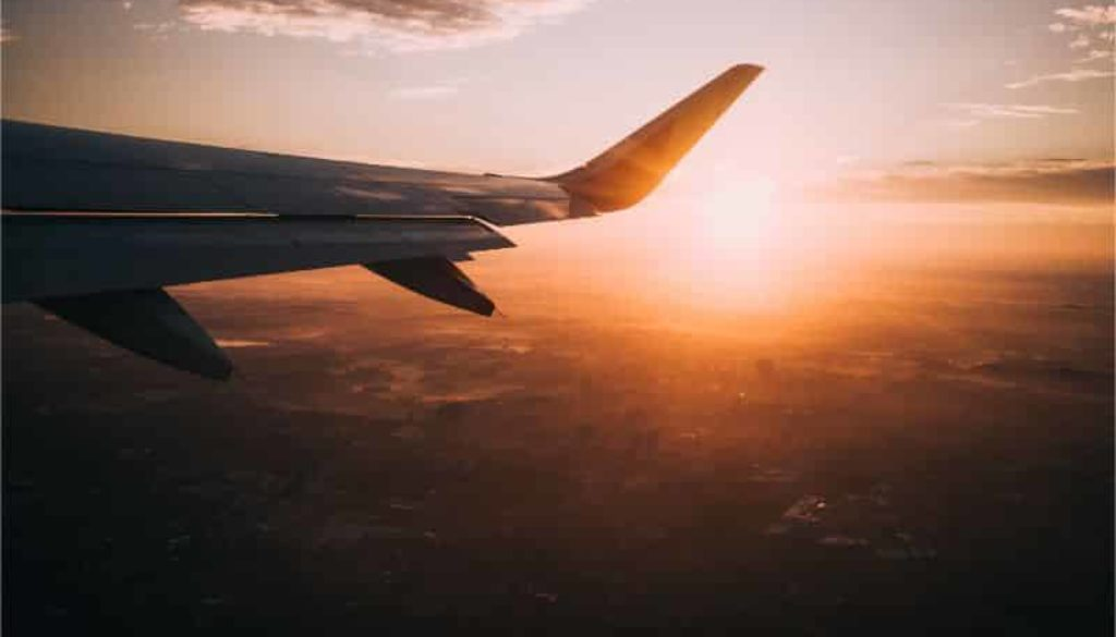 calatorie avion vegan mancare