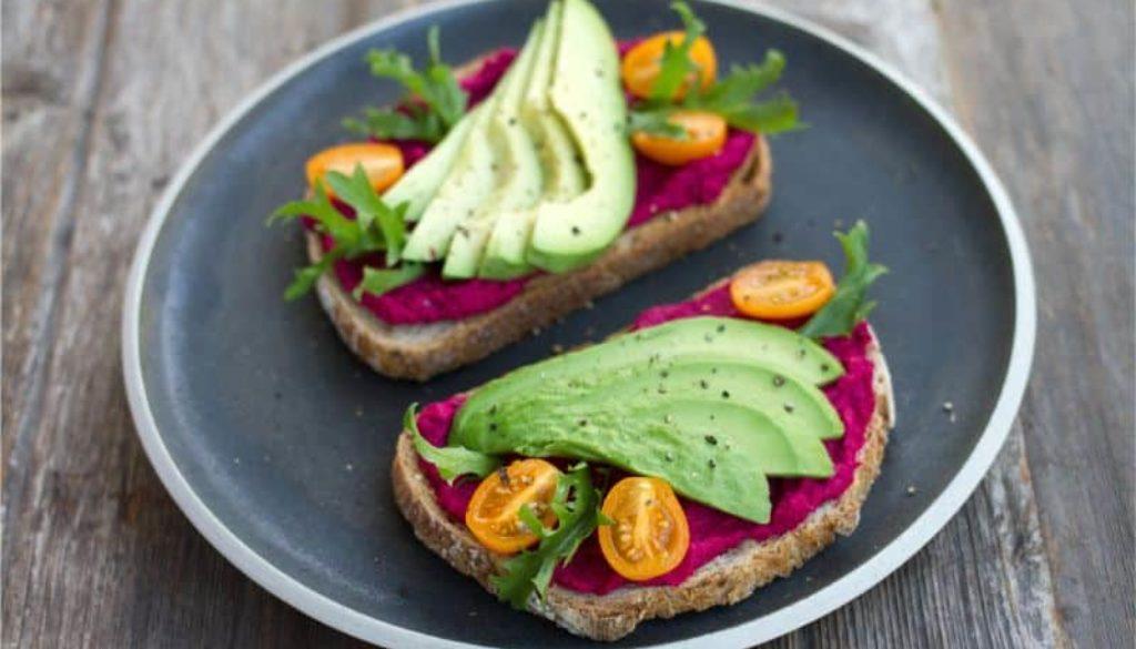 mancare vegan sandvis