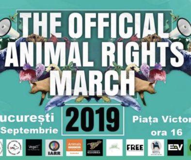 Marşul Oficial Pentru Drepturile Animalelor România 2019
